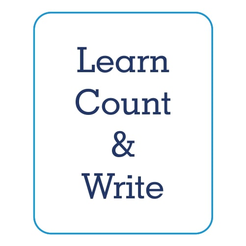 Count & Write Worksheets